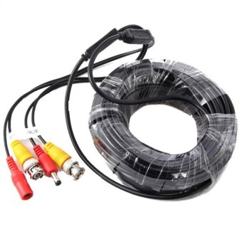 50m BNC Video Power Siamese Cable for CCTV Surveillance Camera