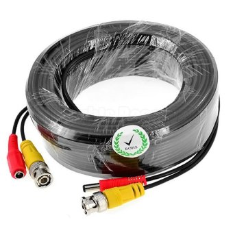50m Siamese CCTV BNC Video and Power 12V DC Integrated Cable