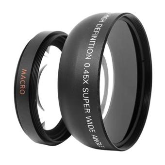 52mm 0.45 X Wide Angle Macro Lens For Nikon D3200 D3100 D5200 D5100 - 5