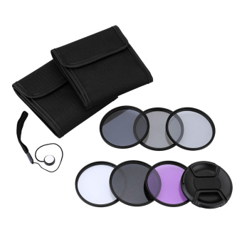 52mm UV+CPL+FLD+ND(ND2 ND4 ND8) Photography Filter Kit Set Ultraviolet Circular-Polarizing Fluorescent Neutral Density Filter for Nikon Canon Sony Pentax DSLRs (Intl) - 2