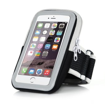 5.5 inch Big Capacity Sport Running Armband Arm Band Holder PhoneCases For 5.5 inch Mobile Phones iPhone 6Plus/6S Plus 7Plus/7SPlus(Black) - intl Price Philippines