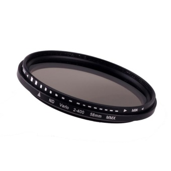 58mm Fader Variable ND Filter Adjustable ND2 to ND400 NeutralDensity - intl Price Philippines