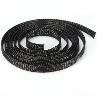 5M Braided Sleeving Sleeve Cable Wire Expanding High Density Harness Sheathing