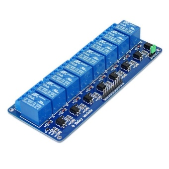 5V 8 Channel Relay Module Shield for Arduino ARM PIC AVR DSPElectronic 10A - intl