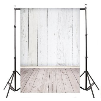 5x7ft Vinyl Cloth WHITE WOOD Photography Background Photo Backdrop for Studio