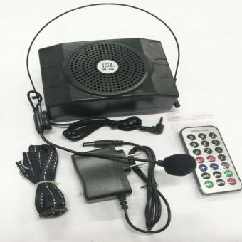 626 Belt Clip Portable PA Voice Amplifier System Microphone Speaker(Black) Price Philippines
