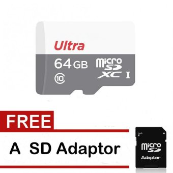 64GB Class 10 Micro SD card with Adaptor - intl Price Philippines
