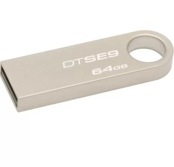 64GB USB 2.0 Flash Drive Metal Memory Stick Pen Key Storage Thumb U Disk (Silver)