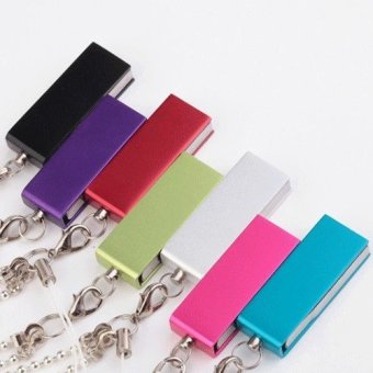 64GB Waterproof Metal Rotation USB 2.0 Flash Memory Drive Stick PenThumb U Disk (Silver) - Intl - 3