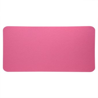 68x33cm Felts Table Mouse Pad Office Desk Laptop Anti-staticComputer PC Pads Pink - intl