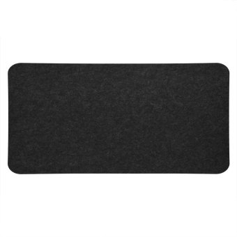 68x33cm Felts Table Mouse Pad Office Desk Laptop Mat Anti-static Computer PC Pads Dark Gray - intl - 2