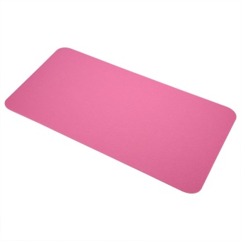 68x33cm Felts Table Mouse Pad Office Desk Laptop Mat Anti-staticComputer PC Pads (Pink) - intl
