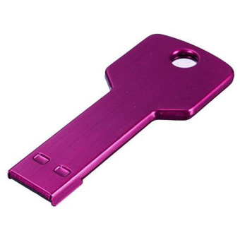 7 Color 64GB U Disk USB 2.0 Metal Key Flash Memory Stick Pen Drive Storage Thumb Pink