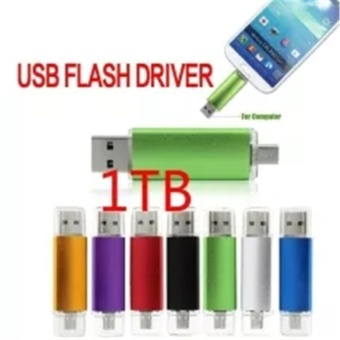 7 Colors Double Use Android OTG USB Flash Drive Pen Drive1tb USB2.0 Pendrive Flash Drive Micro USB Stick - intl