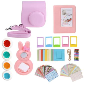 7 in 1 Instant Film Camera Accessories Bundles for Fujifilm InstaxMini 8(Pink) - intl