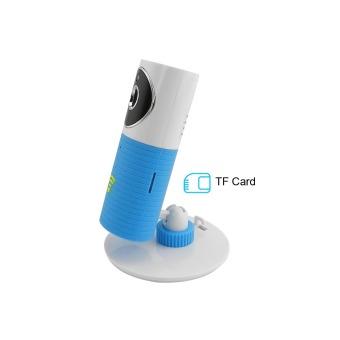 720P HD Wireless Smart IP Camera w/ TF / Wi-Fi - White + Blue - intl - 3