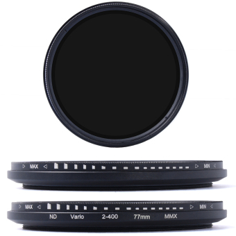 77mm Fader Variable ND Filter Neutral Density ND2 to ND400 for DSLR Camera