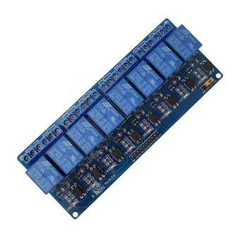 8-Channel 12V Relay Shield Module for Arduino UNO 2560 1280 ARM PICAVR STM - intl