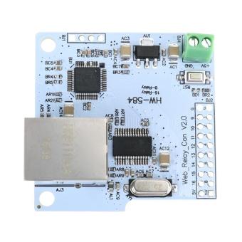 8 Channel 28J60 W5100 RJ45 Network Control Switch 5V Internet RelayModule - intl - 5