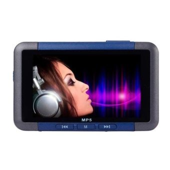 8GB Slim MP3 MP4 MP5 Music Player With 4.3'' LCD Screen FM RadioVideo Movie Blue - intl