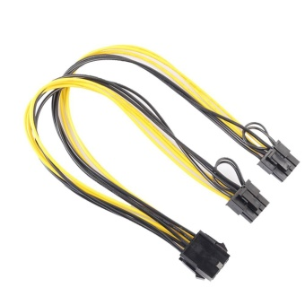 8Pin to Graphics Video Card Double PCI-E 8Pin(6Pin+2Pin)PowerSupply Cable - intl Price Philippines