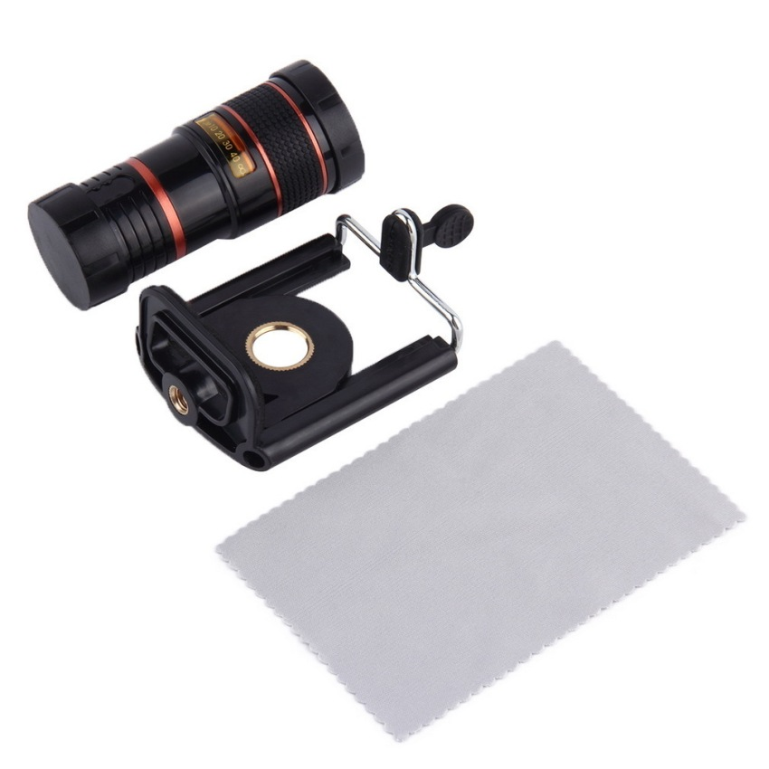 8X Optical Zoom Telescope Camera Lens For Mobile Phone Apple iPhone 4 4S 5