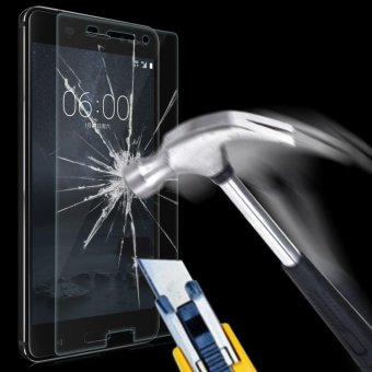9H+ Premium Tempered Glass Screen Protector Guard Film for Nokia 6- intl - 2