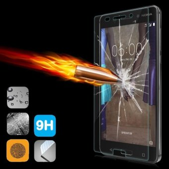 9H+ Premium Tempered Glass Screen Protector Guard Film for Nokia 6- intl - 3