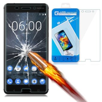 9H+ Premium Tempered Glass Screen Protector Guard Film for Nokia 6- intl - 4