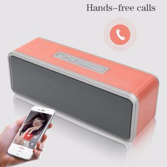 A-K Bluetooth Subwoofer Speaker with TF handsfree functions Bose-001 (Pink) Price Philippines