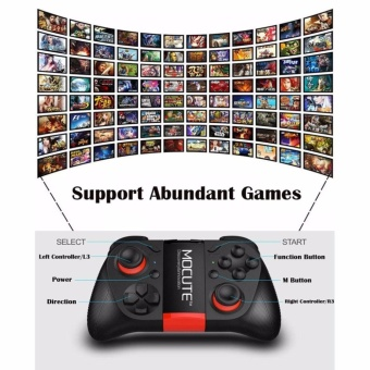 A-K Excellence M050 Wireless Bluetooth Gamepad Game ControllerAndroid Joystick PC Controller for Smartphones Tablets Smart TV PC