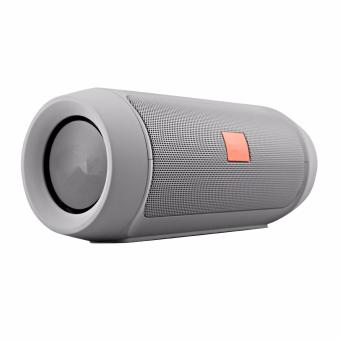 A-K Splashproof Subwoofer Portable Bluetooth Speaker jbl -02(Silver) Price Philippines