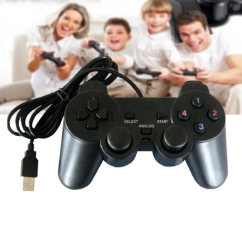 A-K Usb 2.0 Shocks Game Gaming Controller Joypad Joystick ControlFor Pc Computer Laptop