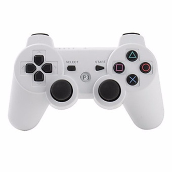 A-K Wireless Bluetooth Game Controller For Playstation Ps3 Dualshock 3 #22A (White)