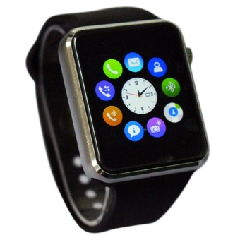 A10 Phone Quad Band Bluetooth Smart Watch (Black)