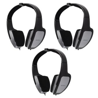A4tech HS-105 58dB Portable i-Chat Headset Set of 3
