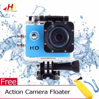 A7 Ultimate Sports Action Cam Under Water Extreme (Blue) w/ FREEAction Camera Floater