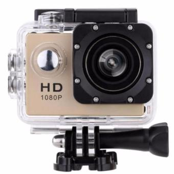 A7 Ultimate Sports Action Cam Under Water Extreme (Gold)