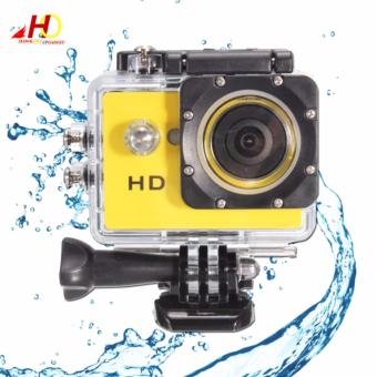 A7 Ultimate Sports Action Cam Under Water Extreme (Yellow)