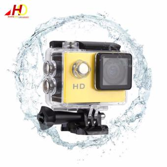 A7 Ultimate Sports Action Cam Under Water Extreme (Yellow) w/ FREE Action Camera Floater - 3