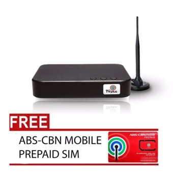 ABS-CBN TV Plus DTTV Blackbox with Free ABS-CBN Mobile Prepaid Sim