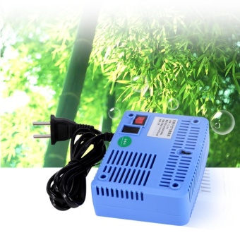 AC220-240V Intelligent Air Purifiers Ionizer Airborne Negative IonAnion Generator Blue - intl
