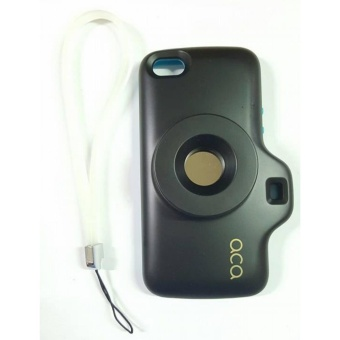 ACA camera Silicon case for Iphone 4g/4s (BLACK)