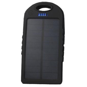 ACB Online Shop Waterproof 50000mAh USB Solar Charger Power Bank(Black)
