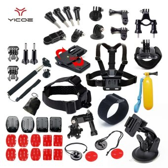 Accessories Kit Case Tripod Strap Mount Monopod for Go pro HERO Accessories for Go Pro Hero Session 5 4 3 SJ4000 SJ6 SJ7 Xiao yi 4k Sport Camera