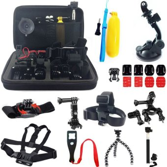 Accessories Kit for GoPro Hero 5 4 3+ 3 2 1 SJ4000 SJ5000 Camera -intl