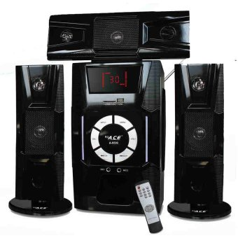 Ace A-9500 3.1 Multimedia Super Bass Sub-Woofer Speaker System(Black)