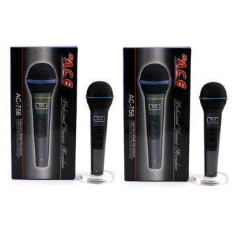 Ace AC-756 Professional Uni-directional Dynamic Wired Microphone