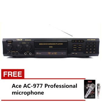 Ace MIDI-2800R Professiona King Song Karaoke DVD Player with FreeAce AC-977 Microphone