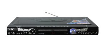 Ace MIDI-8583 Slim Karaoke DVD Player with Game and Radio (Black)